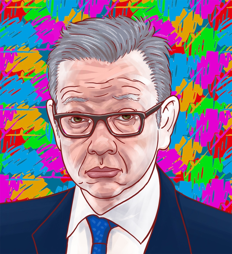 Michael Gove illustration